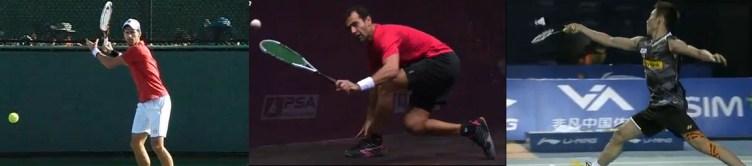 Tennis vs. Squash Vs. Badminton