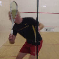 So you think you are a good squash player?