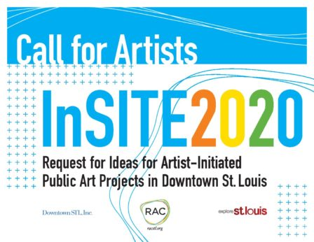 InSITE 2020 Call for Aritsts Downtown St  Louis Public Art