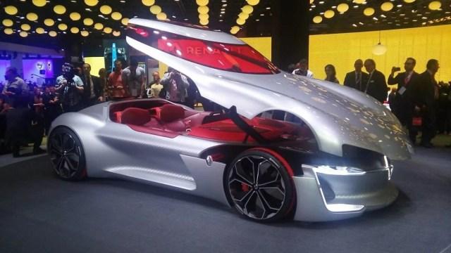 Фото: электромобиль Renault Trezor