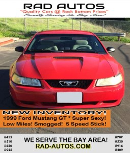 Used Cars Bay Area >> Used Cars Bay Area Vallejo 2 Rad Autos Affordable Used