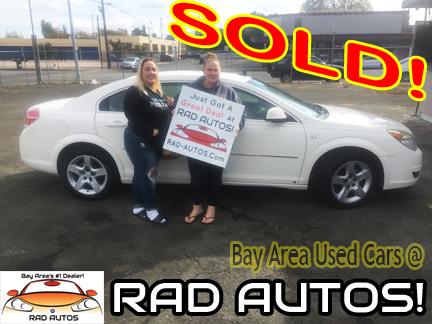 Used Cars Bay Area >> Used Cars Bay Area Vallejo Fairfield Concord Martinez 22 Rad Autos