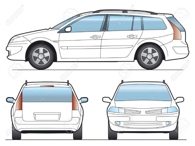 1648382-SW-Car-Layout-for-presentation-vector-Stock-Photo-car-outline-rear