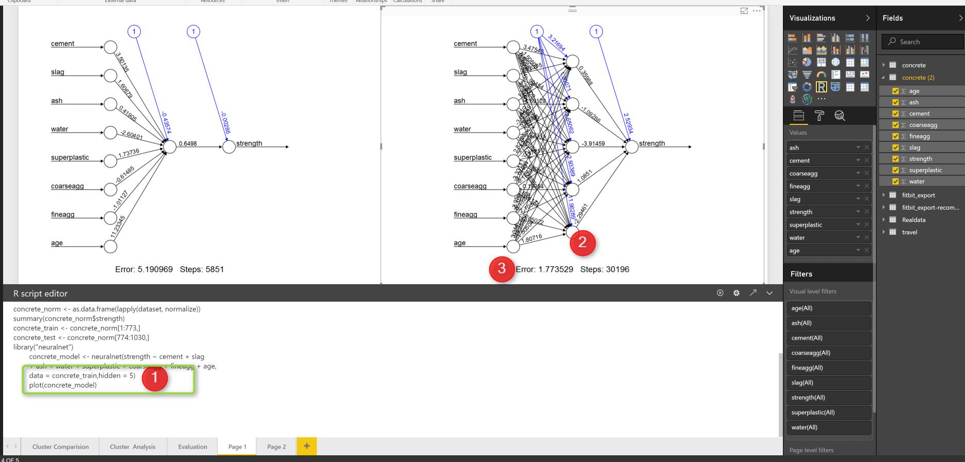 Neural Network R Codes In Power Bi Part2