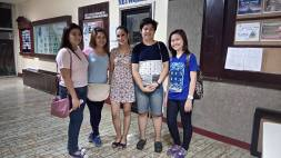 shout out to my supportive hs classmates!! thanks for coming!