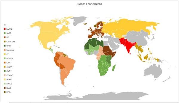 Blocos econômicos internacionais