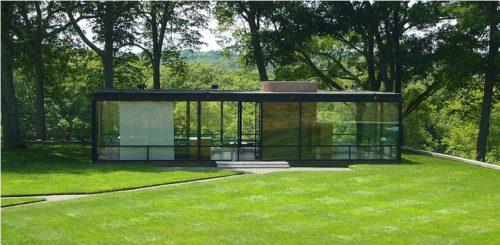 Casa de vidro de Philip Johnson