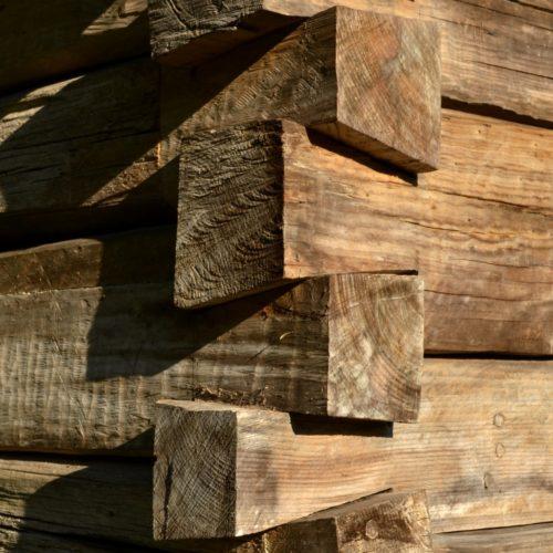 Arquitetura em madeira - Bosque do Papa - Curitiba