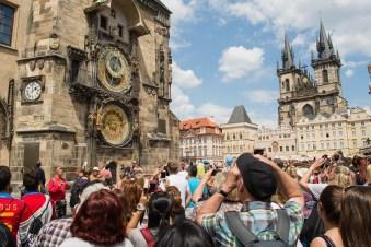 Hora certa -Praga