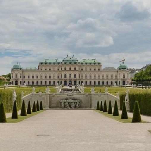 Palácio Belvedere Viena 2014