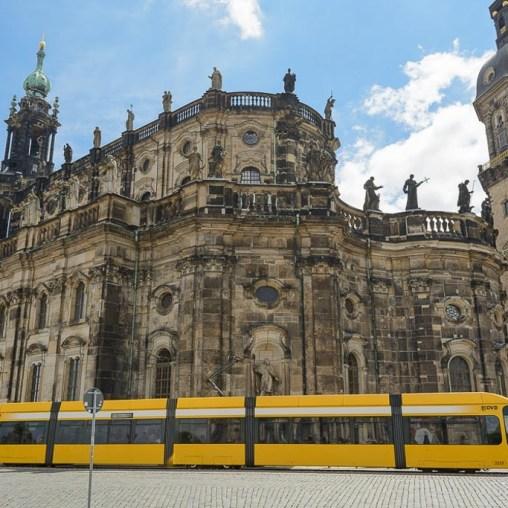 Centro histórico de Dresden 2014