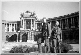 Palácio Hofburg Viena 1945
