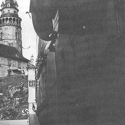 Cesky Krumlov Tchecoslováquia 1938