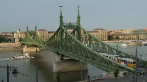 Ponte da liberdade Budapeste 2014