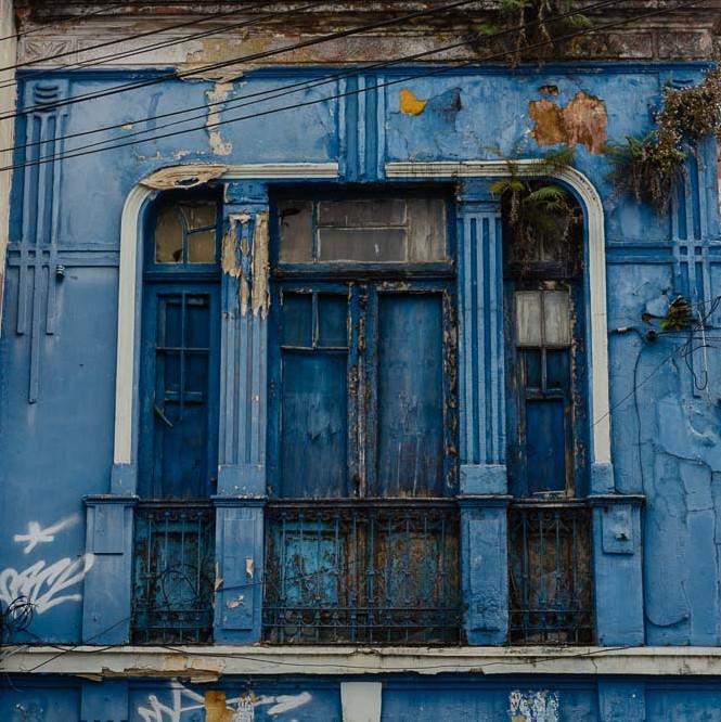 Casa azul - Rua Riachuelo