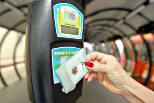 cartão transporte Curitiba