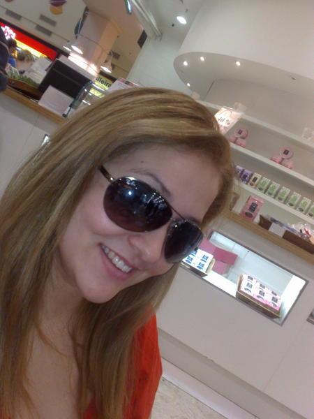 Selfie de óculos escuros