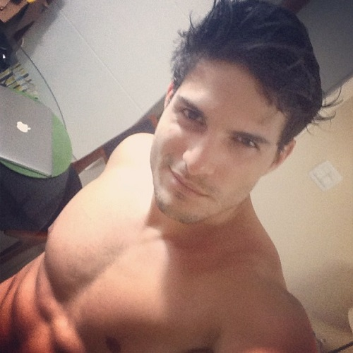 Selfie sem camisa