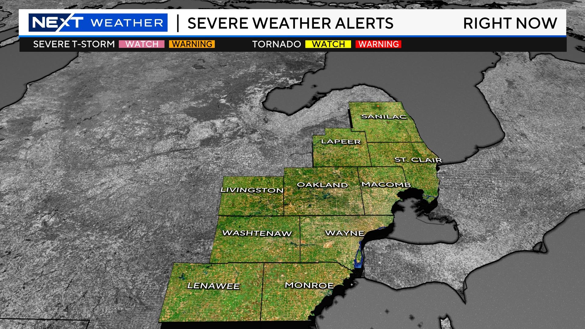 severe warnings spring Severe Storm Warnings