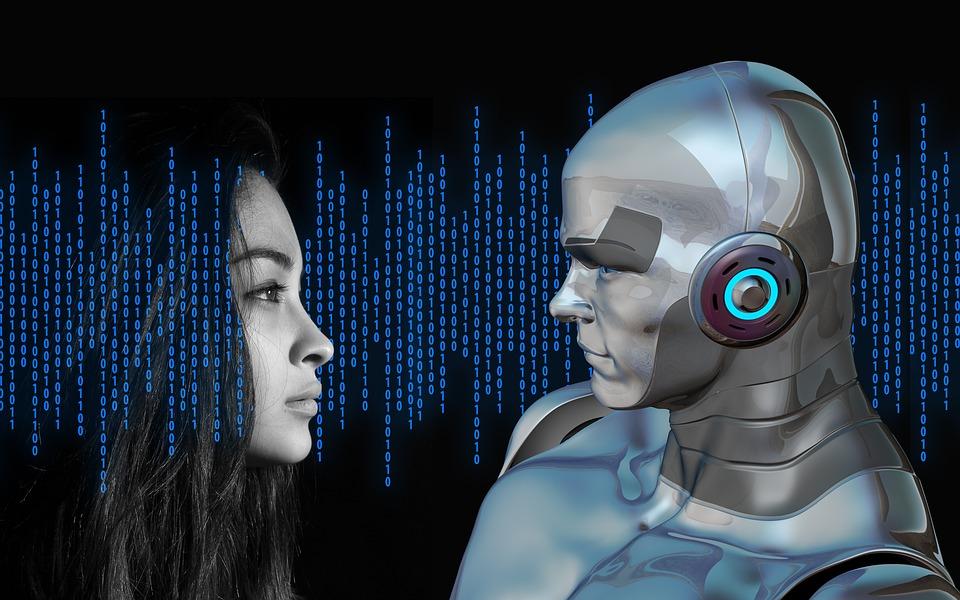 O desenvolvimento das tecnologias, inclusive robóticas, altera o cenário do relacionamento humano - foto pixabay