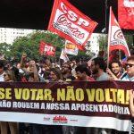 Reforma da Previdência e privatização da Petrobras serão temas malditos do processo eleitoral - Foto Roberto Parizotti