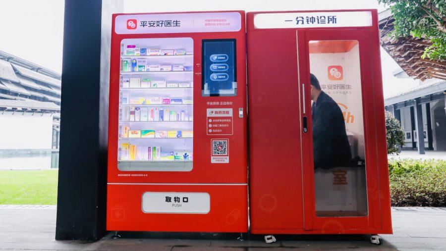 Ping An Good Doctor, plataforma completa de ecossistema de saúde, que começa a ser implantada em cidades chinesas