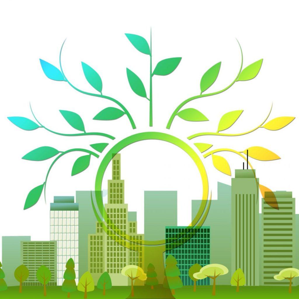 Edifício abrigará o verde e contará com energia fotovoltaica.Foto por Pixabay.