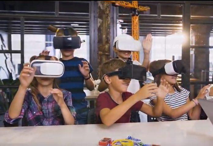 Com Realidade Virtual e Inteligência Artificial, software leva laboratório virtual para escolas de Ensino Fundamental. Foto: divulgação