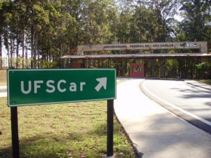 foto: entrada da Universidade Federal de São Carlos