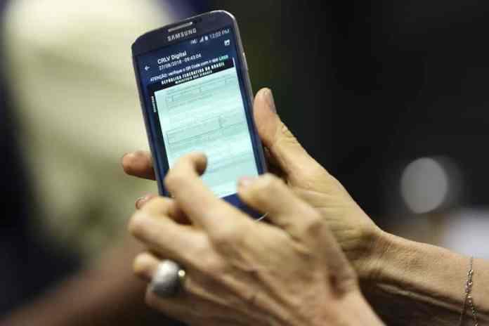 imagem ilustrativa de tela apresentando documento para matéria sobre digitalização de documentos - foto .Foto Marcelo Camargo/Agência Brasil