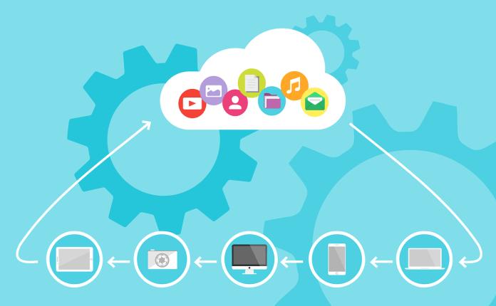 ilustração: cloud computing pixabay