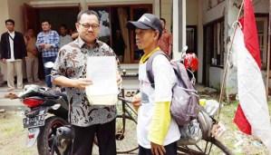 Handoko, Lima Hari Bersepeda untuk Ketemu Pak Dirman