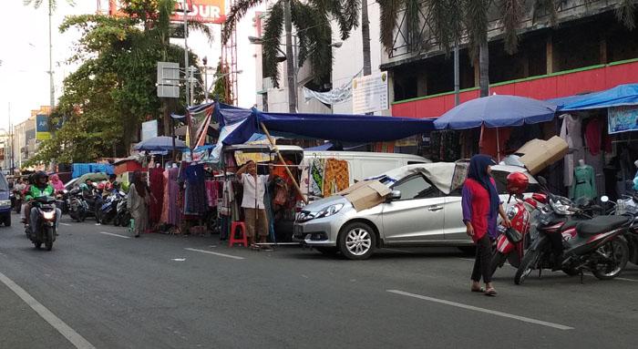 Pedagang Jalan Sultan Agung