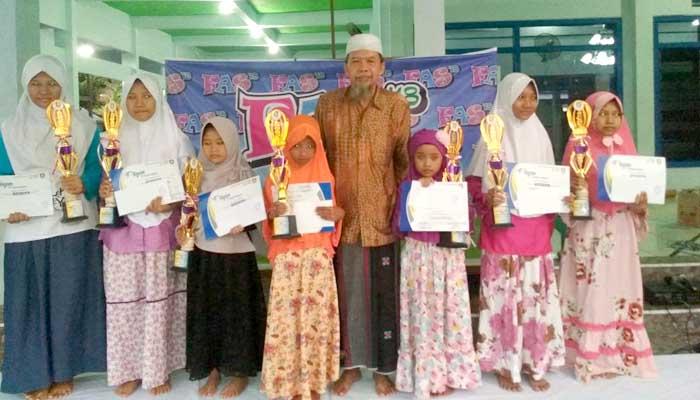 Aisha Juara 1 Lomba Tahfidzul Quran