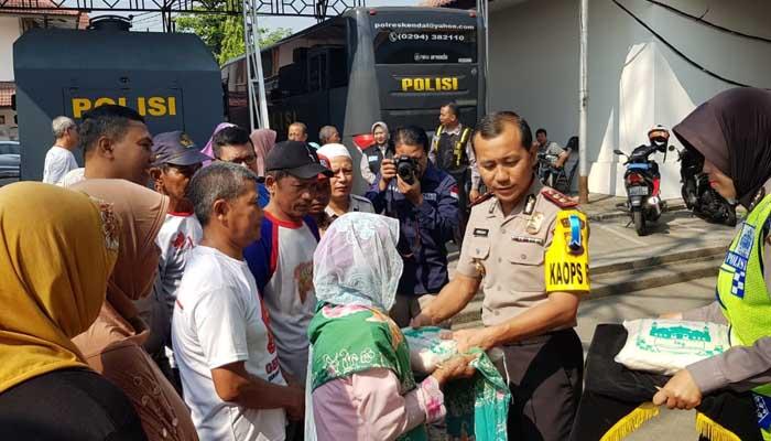 Polres Bagi 416 Paket Zakat Fitrah