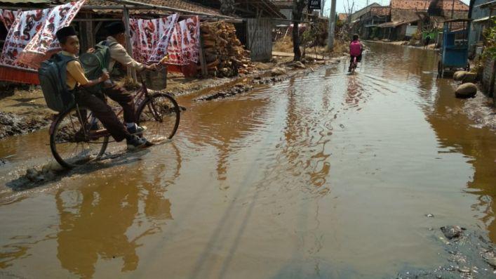 Sumur Tercemar Rob, Wilayah Ini Rob Butuh Air Bersih