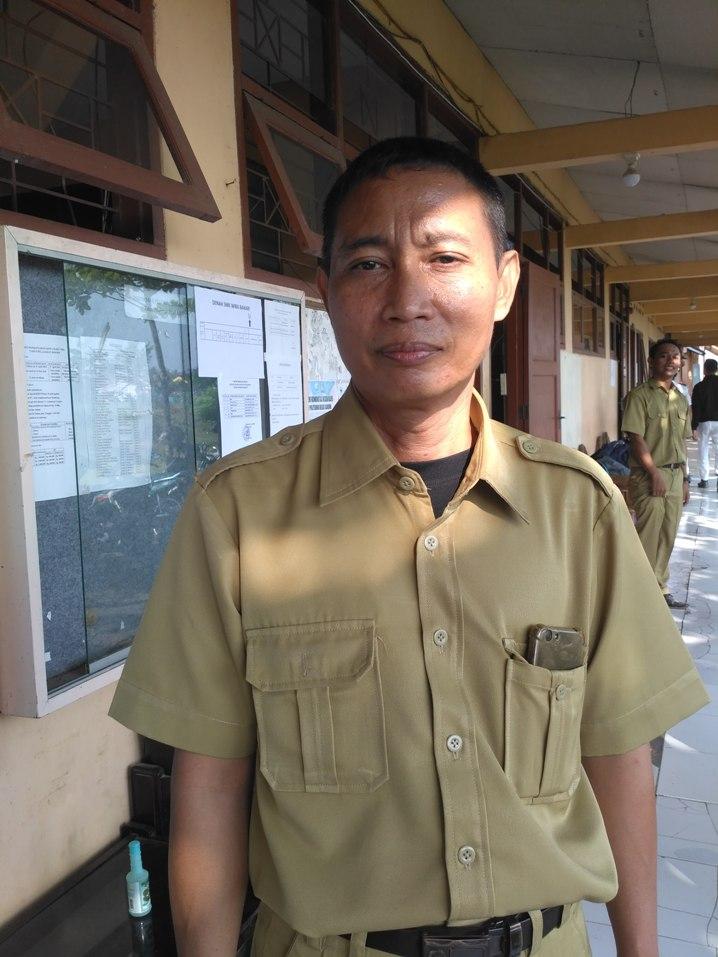 Pahing ST, Kepala SMK Wira Bahari