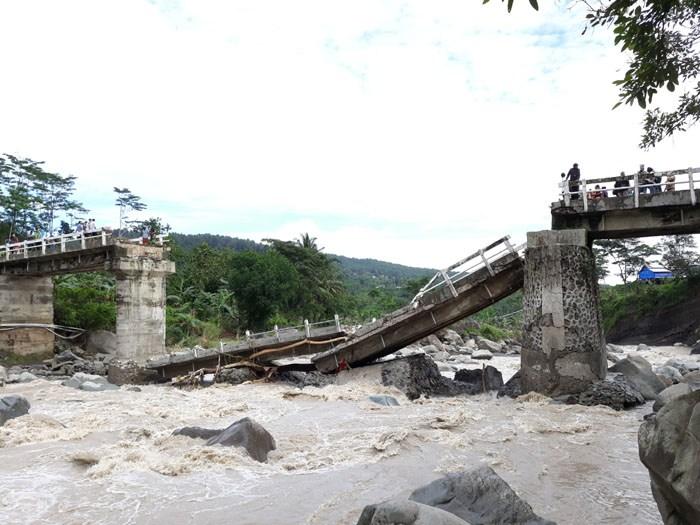 Jembatan Kalikeruh Akan Dibangun 2019, Pemkab Upayakan Jembatan Darurat