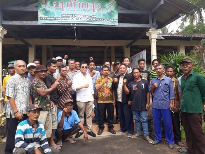 Perjuangkan Pembangunan Irigasi Kecamatan Sragi-Siwalan
