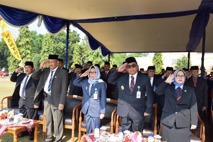 Pelaksanaan Upacara Peringatan Hari Kesaktian Pancasila di Alun-alun Kajen