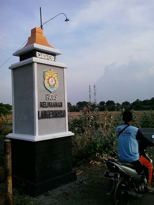 Pembangunan Tugu Kelurahan Dinilai Terlalu Mahal