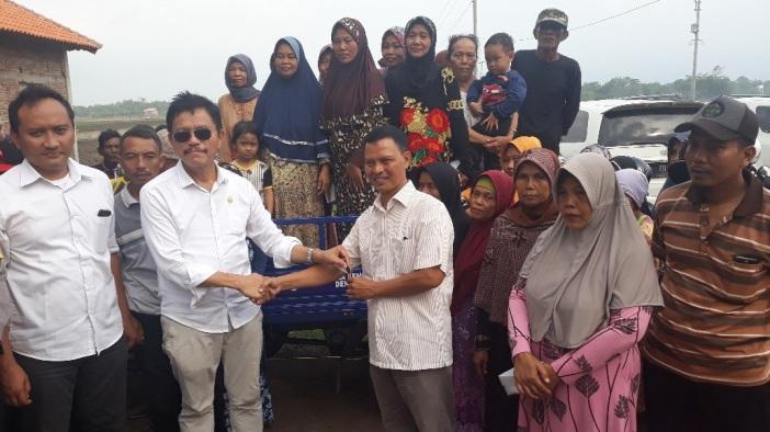 Bung Ramson Didesak Perjuangkan Sumur Bor Air Bersih