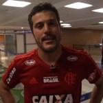 Jogadores e dirigentes do Flamengo comentam sobre apoio da torcida em treino aberto
