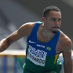Na França, Eduardo de Deus fatura ouro nos 100m com barreira
