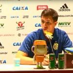 Coletiva do técnico Barbieri após vitória do Flamengo no clássico