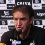Cuca destaca raça do Santos em eliminação para o Cruzeiro