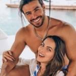 Sertanejo comemora dois meses de namoro com ex-dançarina do Faustão
