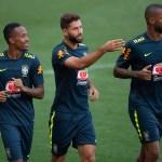 Confira como foi o treino da Seleção Brasileira