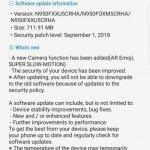 Galaxy Note8 recebe atualização com novos recursos