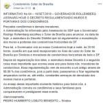 Após decreto, Alberto Fraga denuncia Rollemberg por abuso de poder